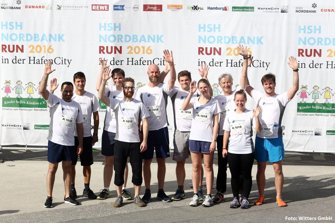 HSH Nordbank Run 2016 Teamfoto