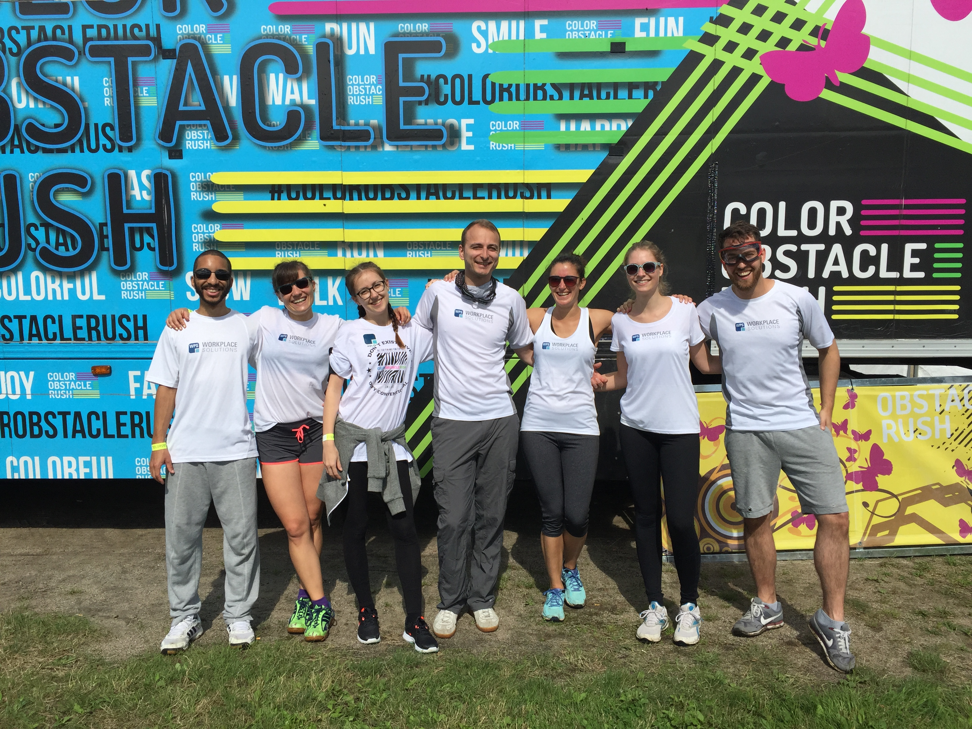 Color Obstacle Rush 2016 Team